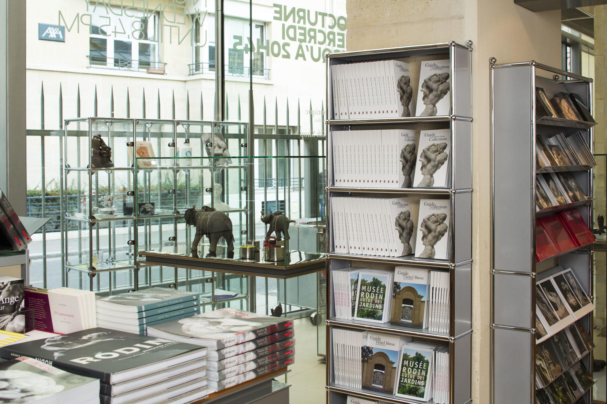 Boutique équipée en USM | Musée Rodin | Paris, Fr