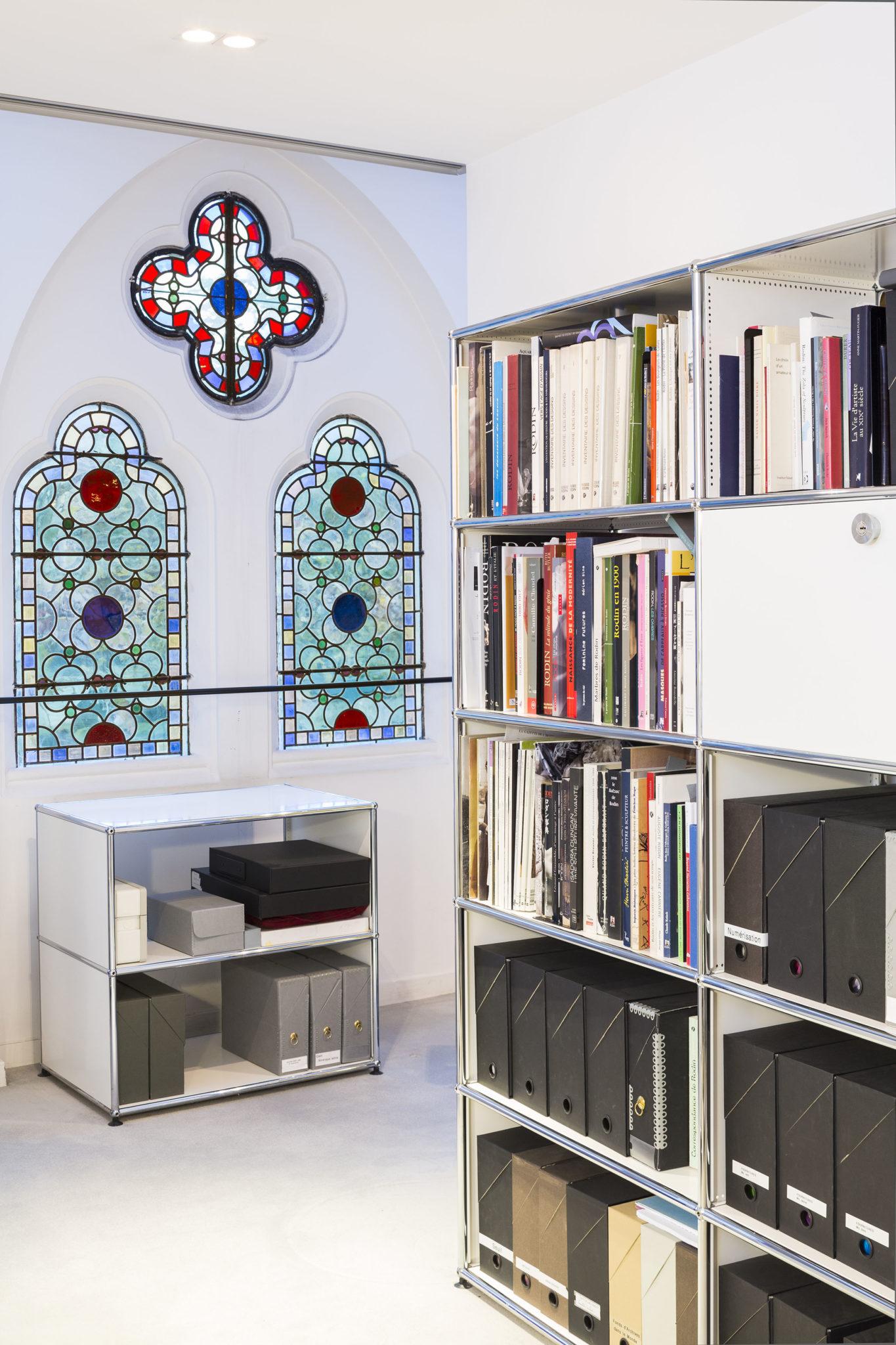 USM dans les bureaux du Musée Rodin | Paris, Fr