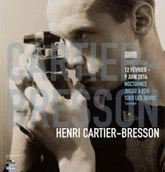 Affiche Henri Cartier-Bresson a Beaubourg