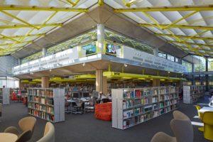 Bibliothèque universitaire, Portsmouth (UK)