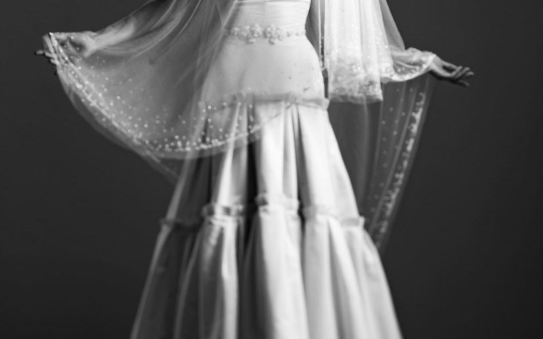 Wedding dress by Celestina Agostino