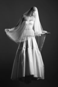 Wedding dress by Celestina Agostino