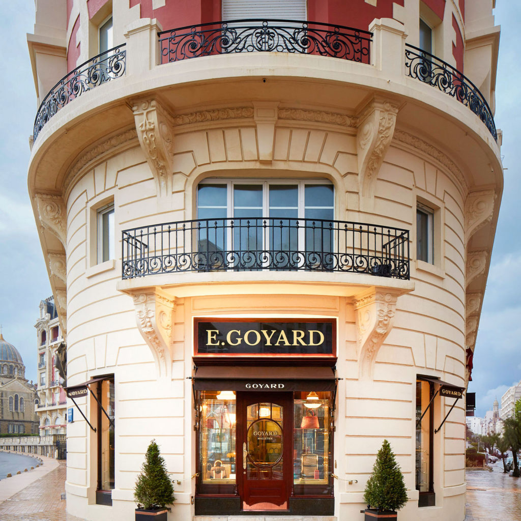 Boutique Goyard - Biarritz - France.