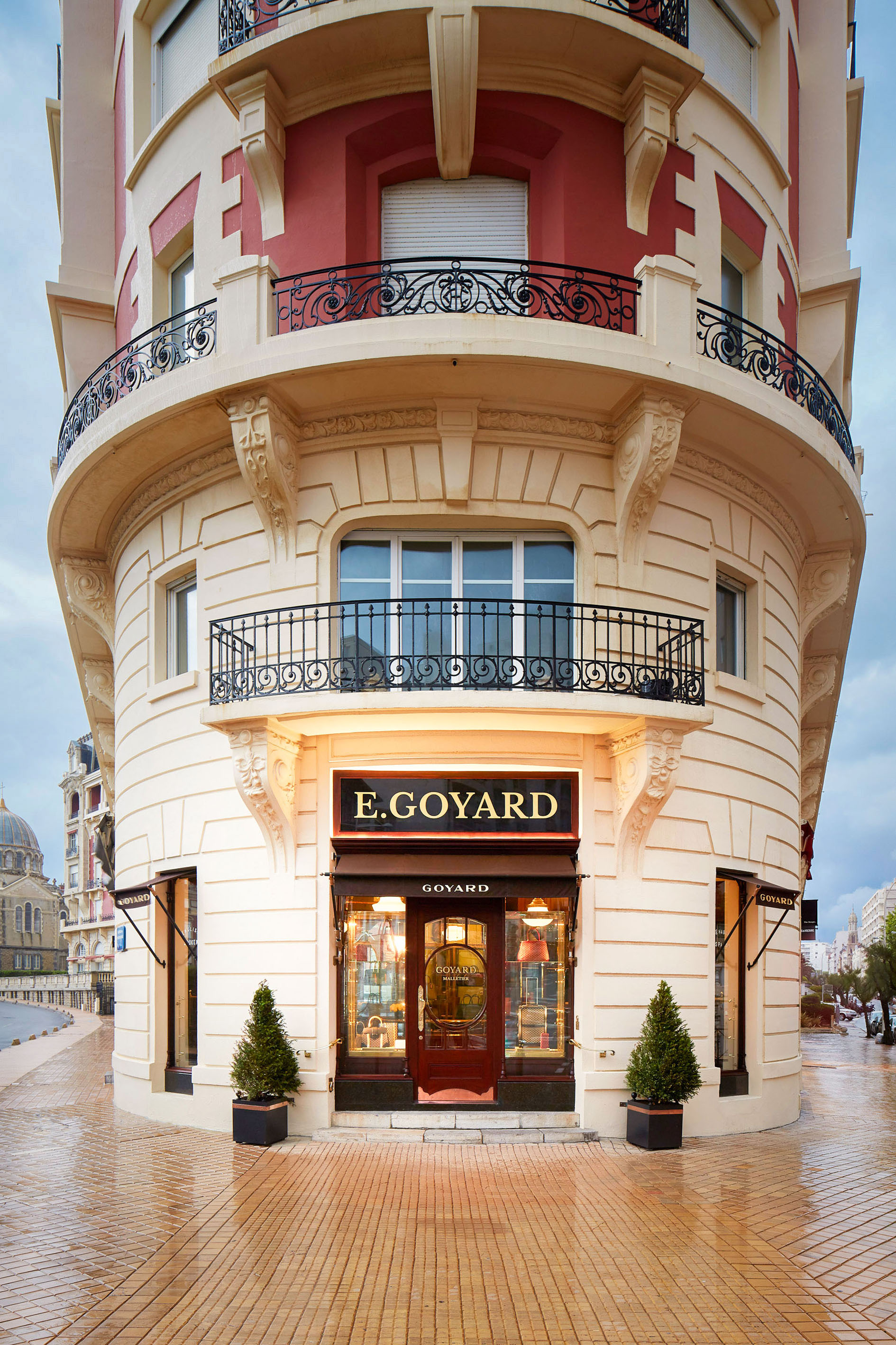 Boutique Goyard - Biarritz - France.