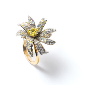 "By Love : Bague ""Edelweiss"""