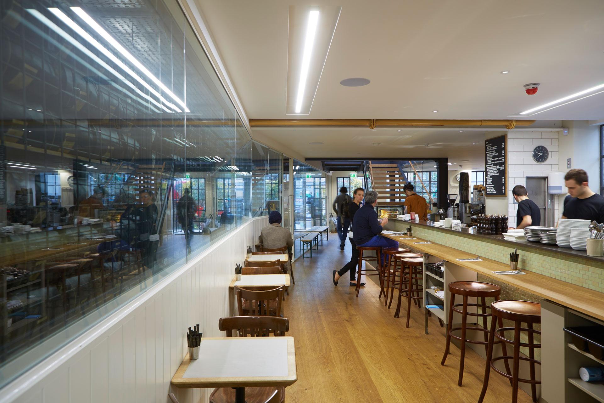 Allpress Cafe office & training Center | London, UK