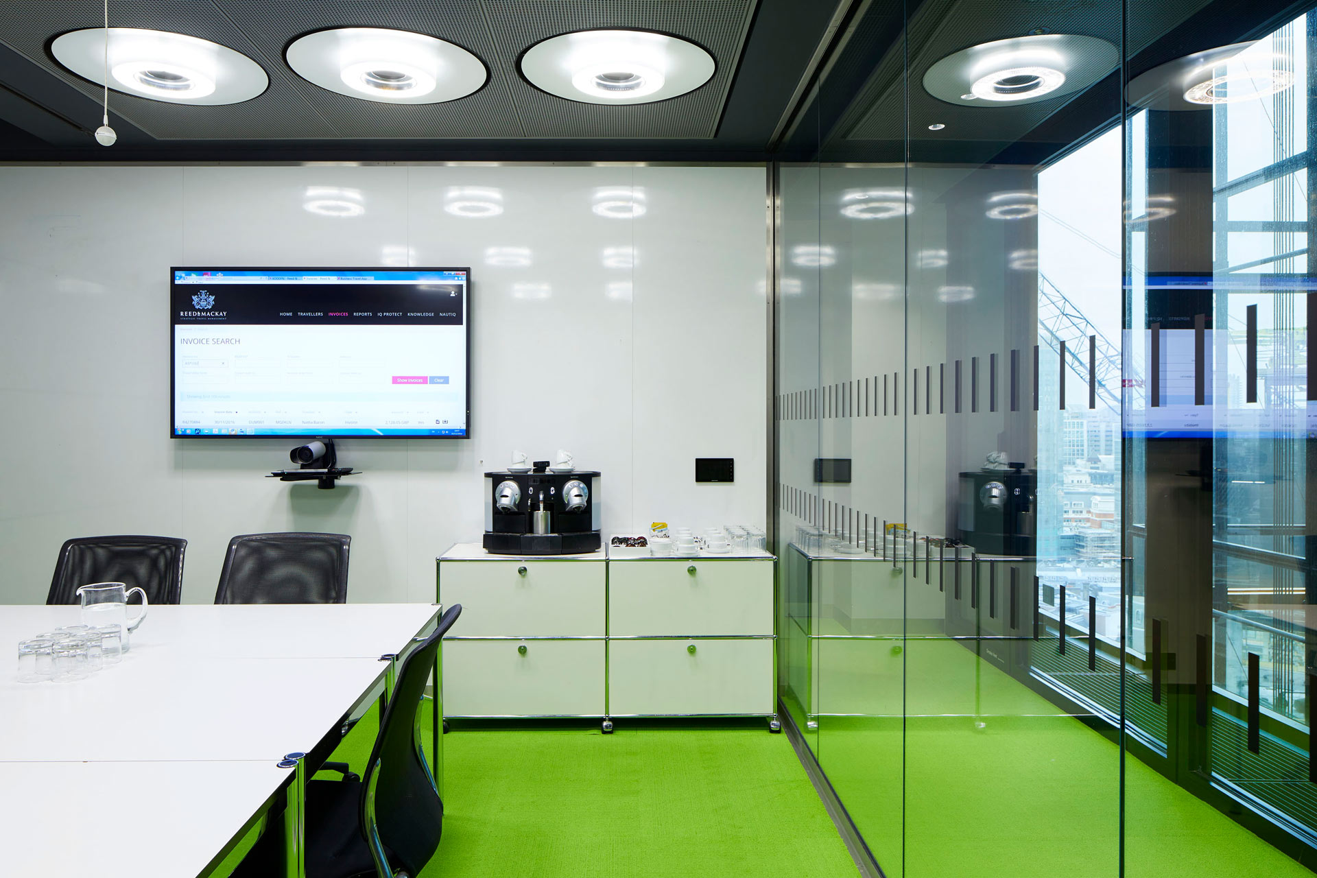 Rogers Stirk Harbour + Partners offices - Londres