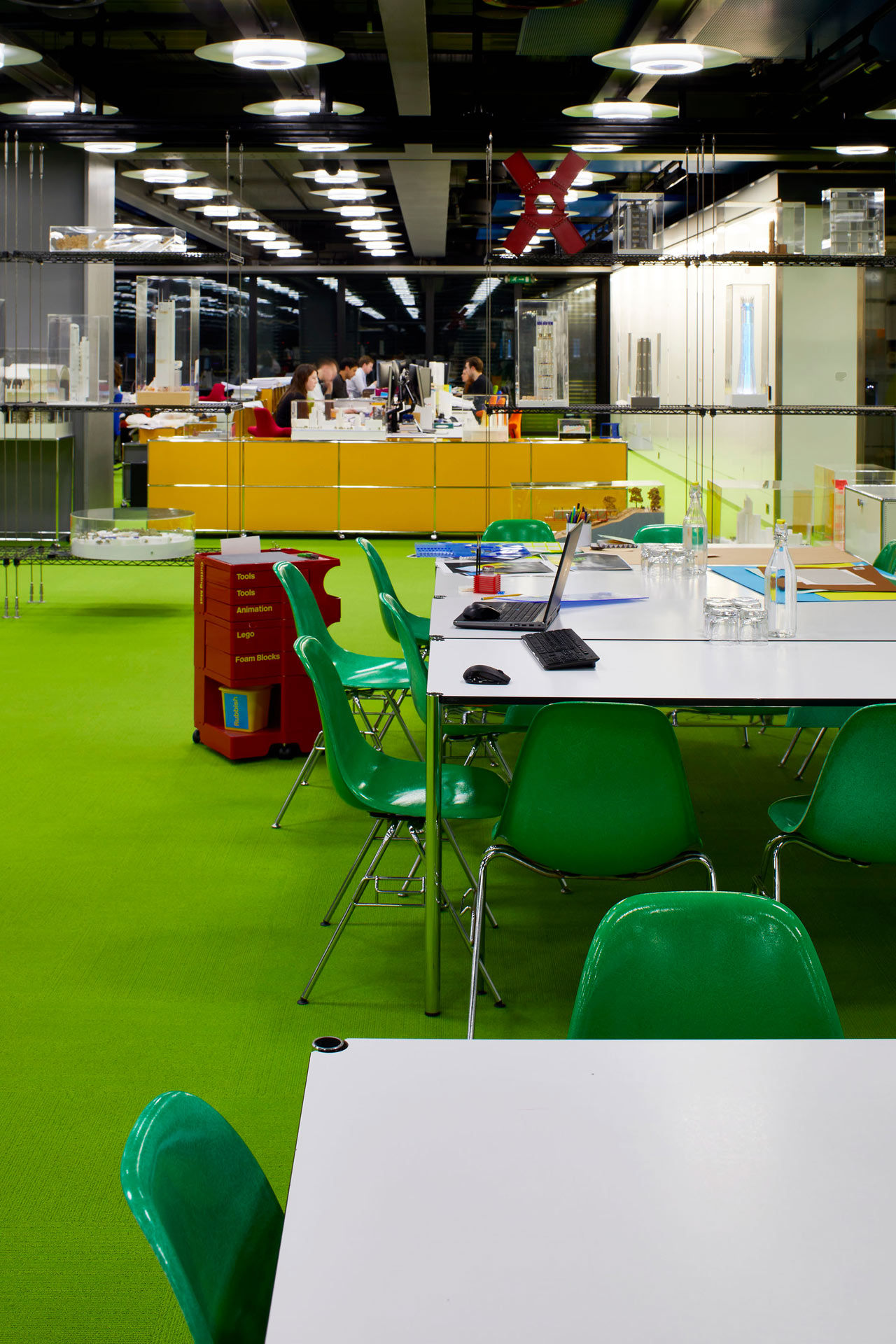 Rogers Stirk Harbour + Partners offices - Londres