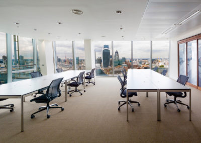 USM furniture @ The Office Group | Shard Building | London