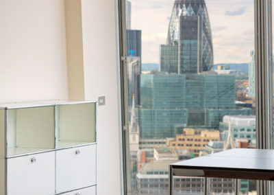 USM modular furniture @  Shard Building | London
