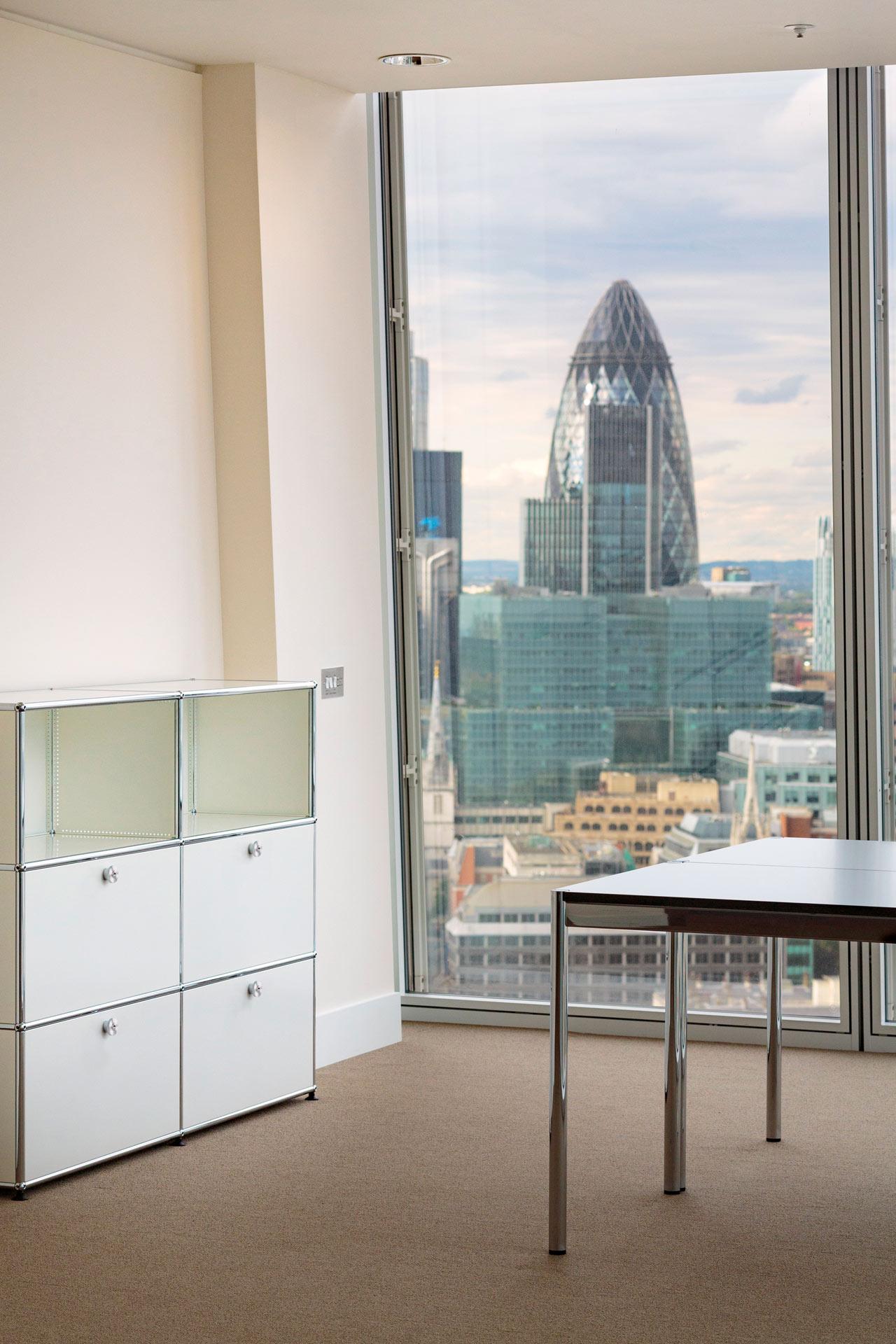 USM modular furniture @  Shard Building | London