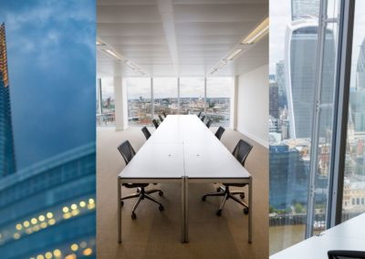 USM furniture | The Office Group @ Shard Building | London