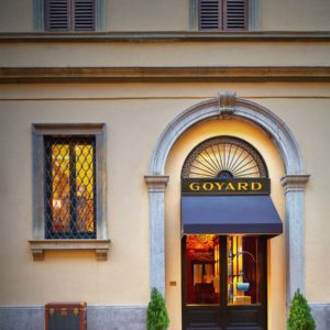 Boutique Goyard | Facade | Milan, It