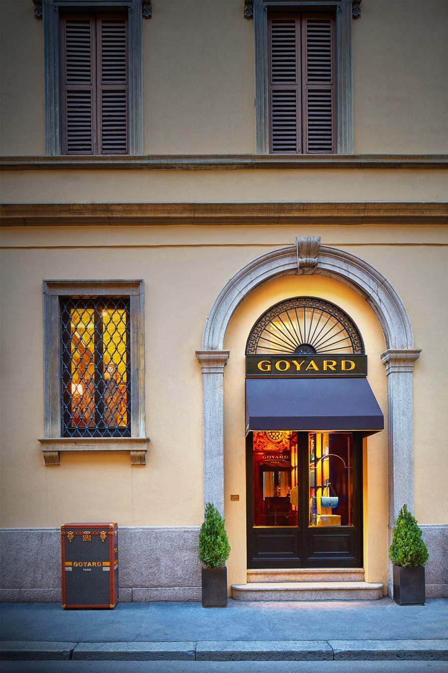 Boutique Goyard | Facade | Milan, It