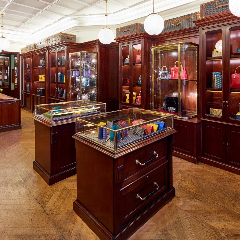Goyard Londres   Comptoir de vente