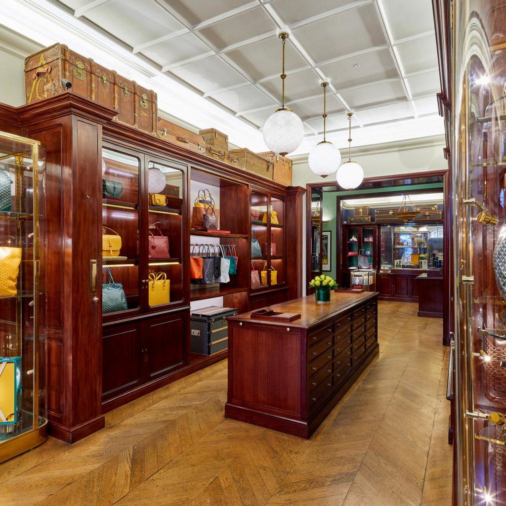 Goyard Londres | Comptoir de vente