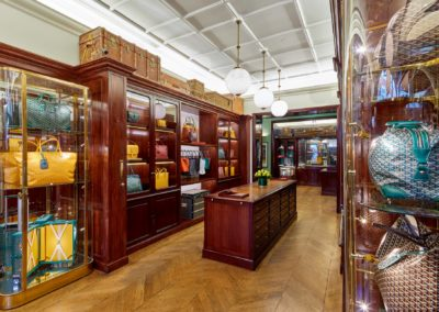 Boutique Goyard à Londres 3