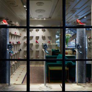 The Manolo Blahnik retail store @ Palais Royal, Paris