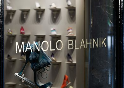 Boutique Manolo Blahnik à Paris 2