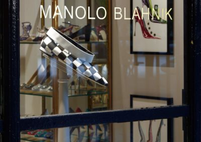 Boutique Manolo Blahnik à Paris 3